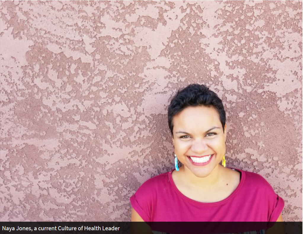 Picture of Naya Jones, PhD for Culture of Health Leaders Interview on Profellow.com